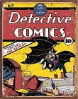 Detective Comics No27 Metal Sign