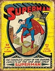 Superman No1 Cover Metal Tin Sign