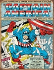 Captain America Cover Metal Tin Sign