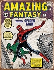 Spiderman Cover Metal Tin Sign