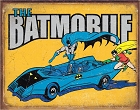Batman - The Batmobile Metal Sign