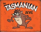 Tasmanian Devil Metal Tin Sign