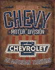 Chevy - American Tradition Metal Sign