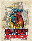 Ghost Rider - Cover Splash Metal Tin Sign