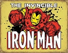 Iron Man - Invincible Metal Tin Sign