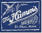 Hamms Metal Tin Sign
