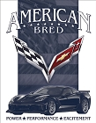 Corvette - American Bred Metal Sign