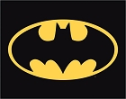 Batman - Logo Metal Tin Sign