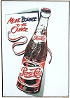 Pepsi More Bounce/Ounce Lg Metal Sign
