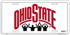 Ohio State Buckeyes Fans License Plate