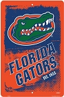 Florida Gators Grunge Large Parking Sign