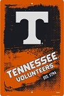 Tennessee Volunteers Grunge Large Parking Sign