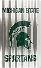 Michigan University Spartans Corrugated Large Parking Sign