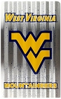 West Virginia Mountaineers Corrugated Large Parking Sign