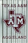 Texas A & M Corrugated Large Parking Sign