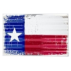 Texas Flag Corrugated Large Sign