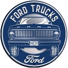 Ford Truck 12 inch Round Sign