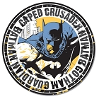 Batman - Caped Crusader Round Sign