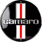 Chevrolet Camaro 12 inch Round Sign