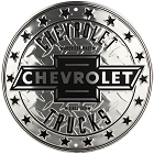 Chevrolet Trucks Circle Round Sign