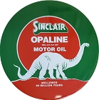 Sinclair Oil Round Sign