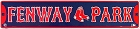 Boston Red Sox - Fenway Park Street Sign