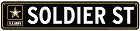 Army Soldier Street Sign