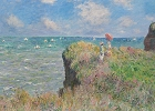 Monet - Cliff Walk Magnet
