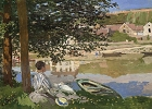 Monet - Bank of the Seine Magnet