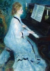 Renoir - Woman at Piano Magnet