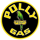 Polly Gas 24 inch Large Round Sign