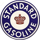 Standard Gas 24 inch Large Round Sign