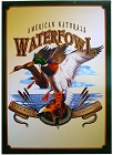American Naturals - Waterfowl Metal Sign