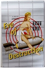 Bomber Art - Eve of Destruction Bomb  Metal Sign