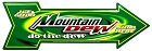 Mountain Dew Large Arrow Sign