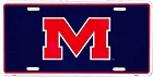 Mississippi Ole Miss Rebels License Plate