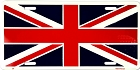 Union Jack Flag License Plate