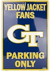 Georgia Tech YJ Large Parking Sign