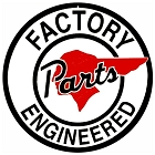 Pontiac Factory Parts 12 inch Round Sign