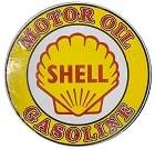 Shell Logo 12 inch Round Sign