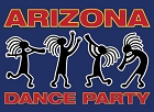 AZ Dance Party - Kokopelli Sm Sticker