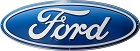 Ford Emblem Oval Die Cut Sign