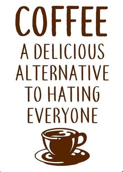Coffee Alternative Magnet