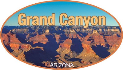 AZ Grand Canyon Lg Sticker