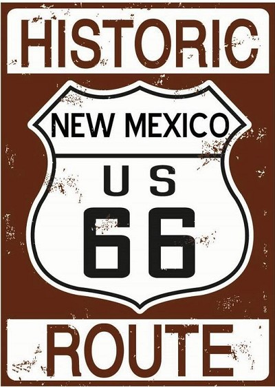 Route 66 Historic New Mexico Magnet