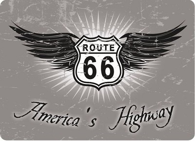 America's Highway Route 66 Magnet