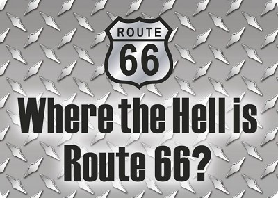 Where the Hell? Route 66 Magnet