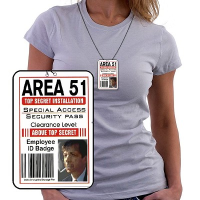 Area 51 ID Smoker Necklace