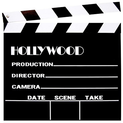 Wooden Clapboard 12 Inch Sq Hollywood