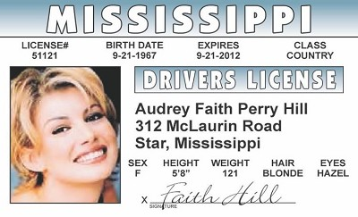 Faith Hill ID